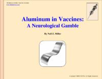 Aluminum In Vaccines Instead Of Mercury A Neurological Gamble (Neil Z Miller, 2009)