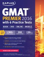 Kaplan Gmat Premier 2016 With 6 Practice T