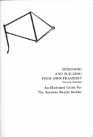 Talbot Designing And Building Your Own Frameset