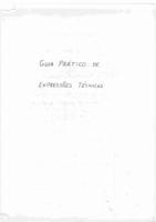 Guia PráTico De ExpressõEs TéCnicas