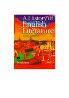 History Of Eng Lit15415