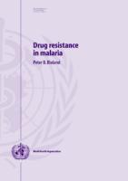 016. Drug Resistance İn Malaria