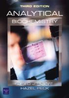 Analytical Biochemistry 3Rd Ed David Holme, Hazel Peck