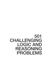 501 Challenging logican dreasoning problems 2 Ndedition