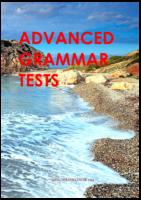 Advanced Grammar Tests