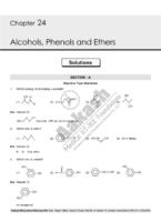 Alcohol Phenol & Ethar