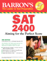 Barron 2400 Sat Aiming For The Perfect Score 2238 1405696727
