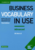 Cambridge Business Vocabulary İn Use Advanced (3Rd Edition)