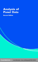 [Cheng Hsiao] Analysis Of Panel Data (Econometric
