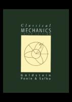 Classical Mechanics Goldstein 3Ed