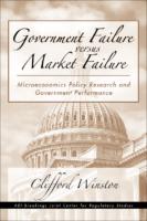 [Clifford Winston] Government Failure Versus Marke
