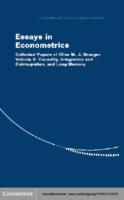 [Clive W. J. Granger] Essays İn Econometrics Coll