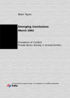 [] Economics Of Conflict Private Sector Activity