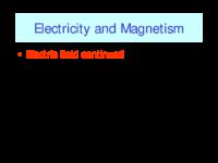 Electric Fieldx