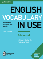 English Vocabulary İn Use Advanced 2017