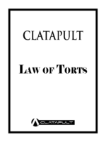 Law Of Torts Module