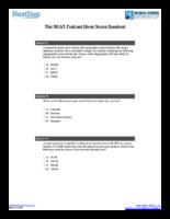 Mcat Podcast Sessions 46 77 Handouts
