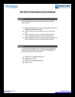 Mcat Podcast Sessions 79 96 Handouts