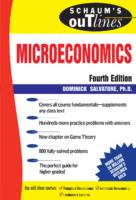 (Schaum S Outline Series., Schaum S Outline Series İn Economics) Dominick Salvatore Schaum S Outline Of Microeconomics, 4Th Edition (Schaum S Outline Series) Mcgraw Hill (2006)