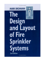 2001 The Design And Layout Of Fire Sprinkler Systems 2 Nd Ed