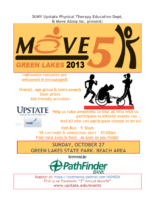 2013 Move 5K Event Flier Pathfinder