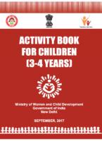Activity Book For 3 4 Years Children
