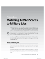 Asvab Scores For Military Jobs