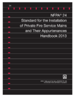Nfpa 24 Handbook 2013