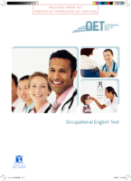 An overview of the Occupational English Test
