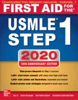 First Aid For The Usmle Step 1 2020 30Th Edition