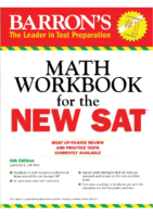 Barron's Math Workbook