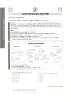Sat Math Practice Tests-Barron's 6