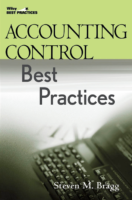 Accounting Control Best Practices 2E By Steven Bragg