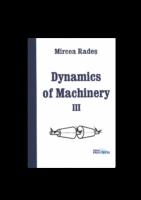 Dynamics Of Machinery Iıı By Mircea Rades