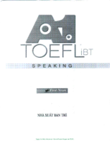 New A1 Toefl Ibt Speaking