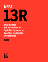 Nfpa 13R Std Sprinkler Sys İn Resid Occup 4 Fls 2019