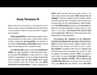 4 Problem Solution Essays